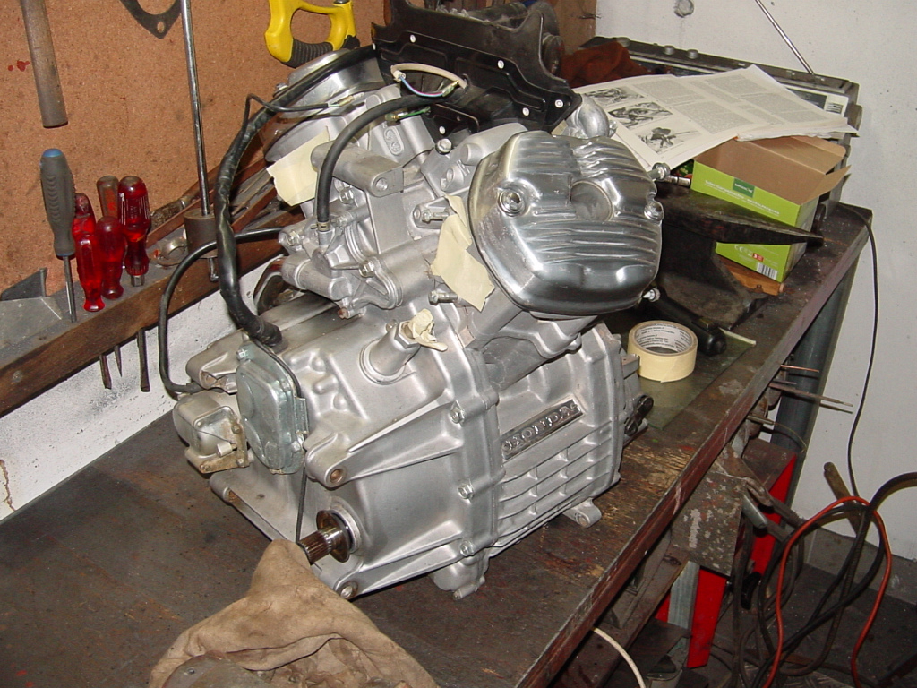 How To Rebuild A Honda Motorcycle Engine